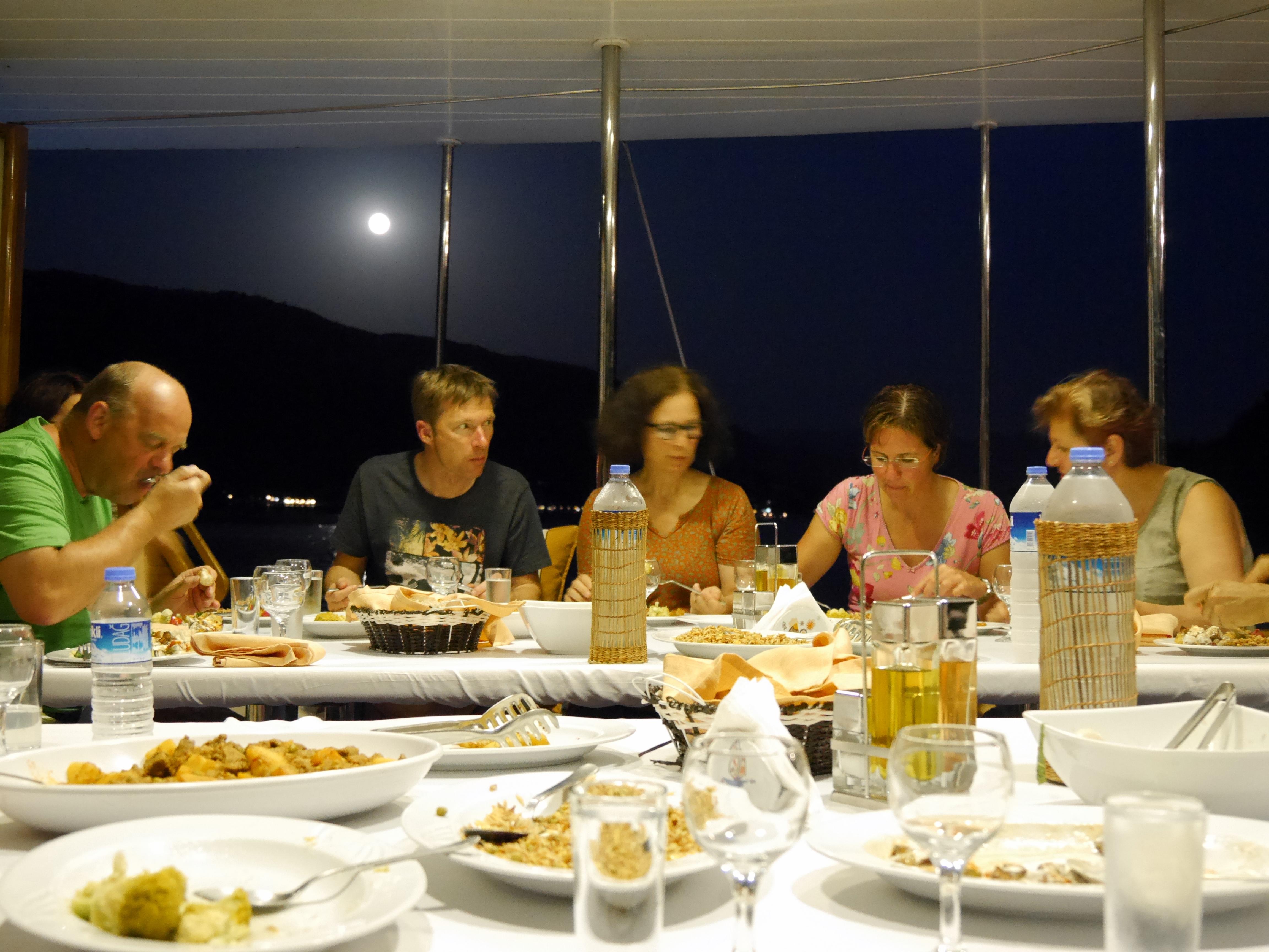 Vollmond-Dinner