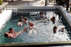 Entspannung im Schwefelbad
