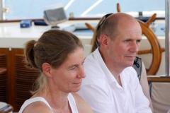 Hugo und Susanne im Seminar